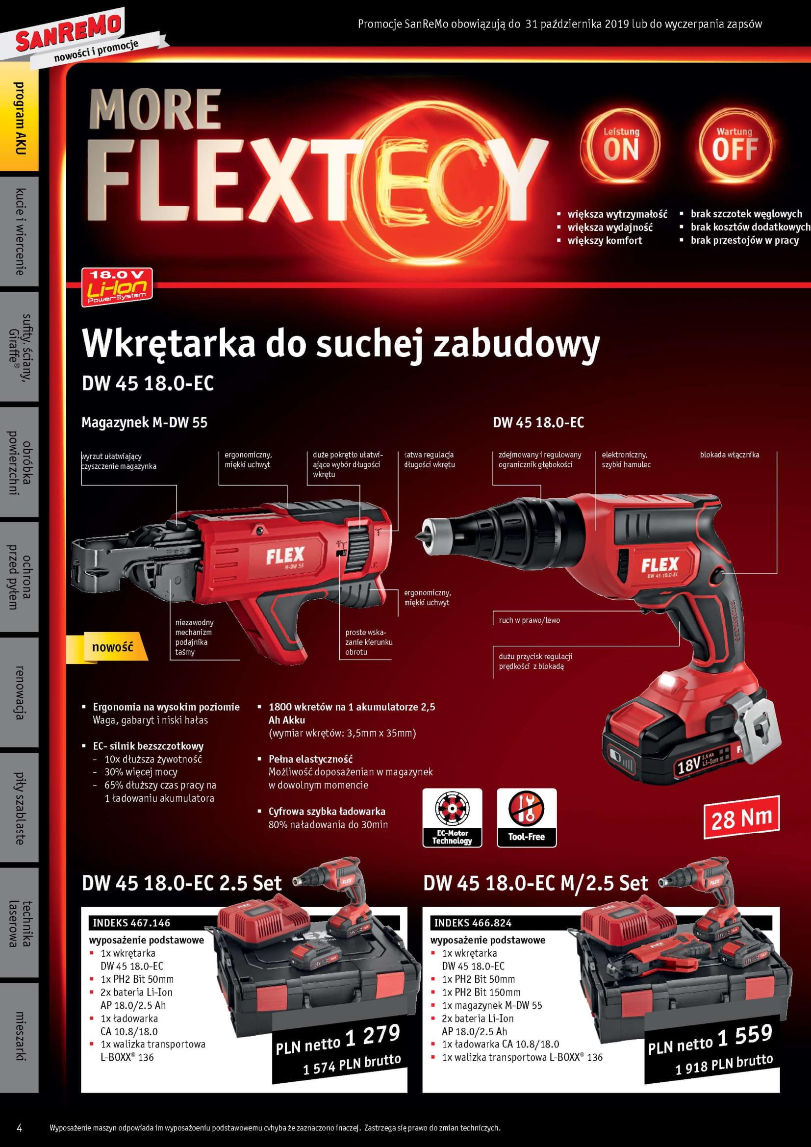 Promocja FLEX SanRemo III kw 2019