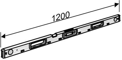 Poziomica laserowa 120 cm | indeks 476.110