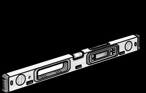 Poziomica laserowa 60 cm | indeks 476.102